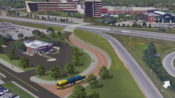 Four years of construction coming to I-35W/I-494 Interchange