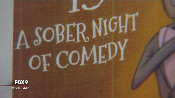 Laughter without liquor: Sober comedy show in Minneapolis gives back to community