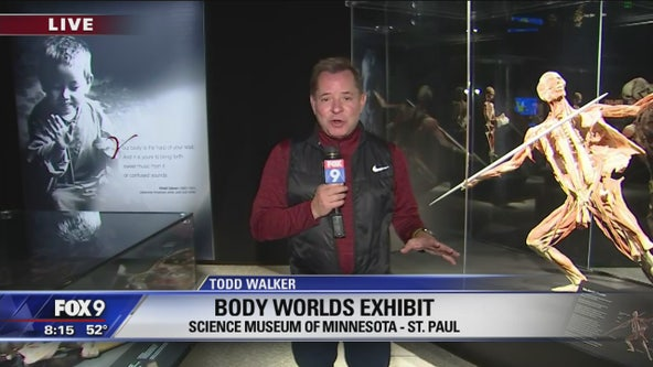Todd Walker checks out new exhibits at the Science Museum of Minnesota