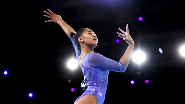 St. Paul's Sunisa Lee shines at Worlds Gymnastics Championships amid father's recovery