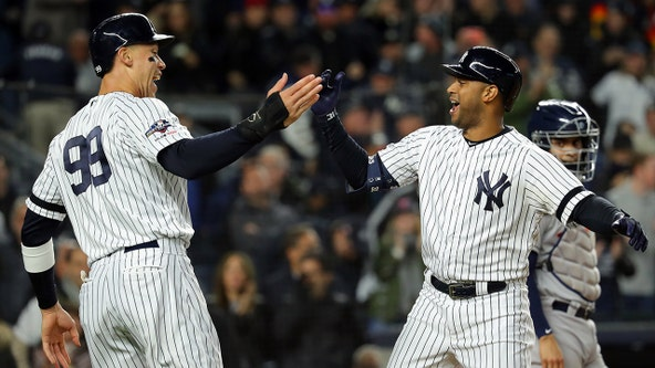 LeMahieu, Hicks lift Yanks over Astros, close to 3-2 in ALCS