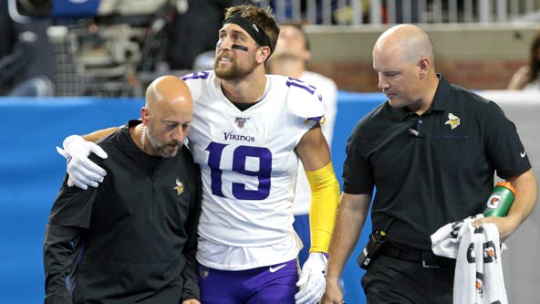Vikings WR Adam Thielen inactive for 5th straight game