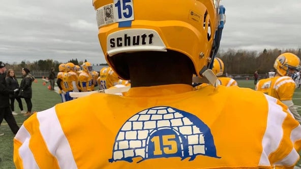 Team, fans honor Esko, Minn. football player who died during game