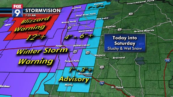 Twin Cities will see wind chills in 20s Friday, could wake up to coating of snow Saturday