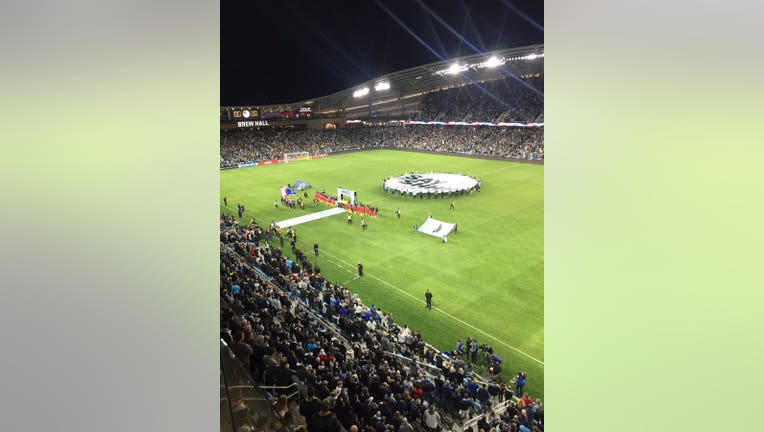 Minnesota United's first playoff game