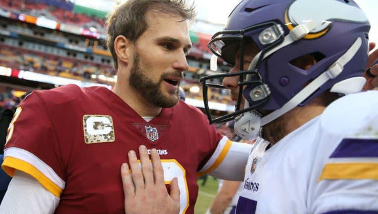 Kirk Cousins vs Vikings GETTY