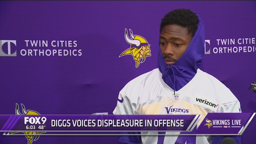 Stefon Diggs talks frustations amid trade rumors