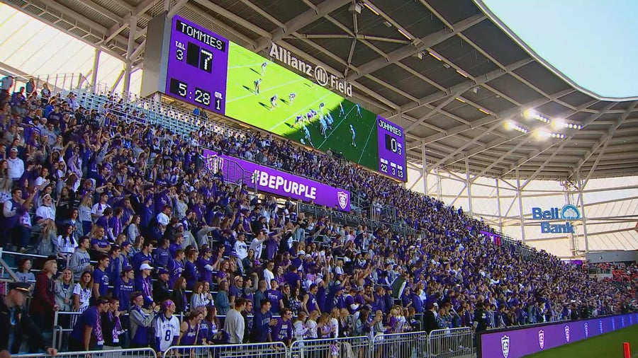 Crowds pack Allianz Field for Tommie-Johnnie game as future of rivalry remains uncertain