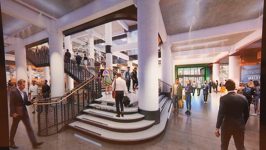 Dayton's staircase rendering