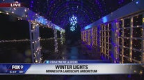 Arboretum all aglow for the holidays