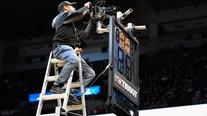 Timberwolves-Bucks game delayed due to basket malfunction at Target Center