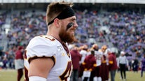 Former Gopher Carter Coughlin working out in parent's garage as COVID-19 disrupts NFL Draft process