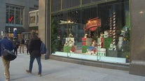 Revamped Dayton's building unveils new holiday window displays