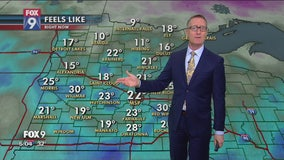 Snow possible in southern Minnesota as temperatures dive across the state