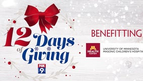 FOX 9's 12 Days of Giving kicks off Sunday, Dec. 1