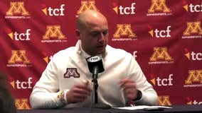 Coach PJ Fleck discusses unsportsmanlike conduct penalty