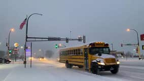 Up to 3 inches of snow falls in southeastern Minnesota, dusting in metro slows morning commute