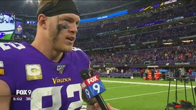 After a forgettable first half, the Vikings surged to a victory Sunday night
