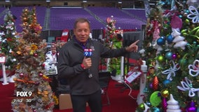 Holiday boutiques at U.S. Bank Stadium in Minneapolis