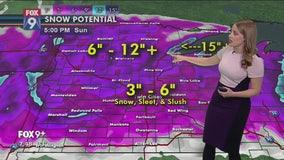 Thanksgiving weekend storm to bring rain, snow to Minnesota