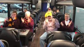 Gopher fan bus heads down to Iowa City ahead of Saturday's game
