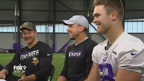 Vikings 1-on-1: Dan Bailey, Britton Colquitt and Austin Cutting
