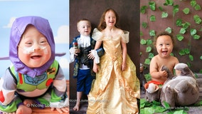 Children with Down syndrome become Disney characters in magical photoshoot aimed at spreading awareness