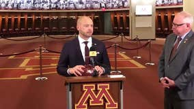 'We are one Minnesota': PJ Fleck presents game ball after Penn State win to Gov. Tim Walz