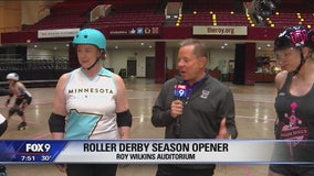 Roller Derby Season Opener at Roy Wilkins Auditorium in St. Paul, Minnesota