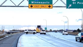 Icy roads lead to early morning crashes across Twin Cities metro
