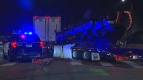 Police: Bicyclist killed in crash with semi near downtown Minneapolis