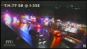 Multi-vehicle crash on Hwy. 77 in Eagan, Minnesota