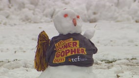 Gophers fans ready for sloppy, snowy weather on Saturday with game on big stage