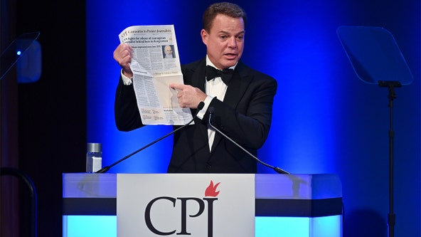 Shepard Smith slams 'vilification of the press,' donates half million to press freedom group