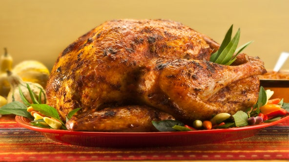 TSA says it's OK to pack a whole cooked turkey in your carry-on luggage