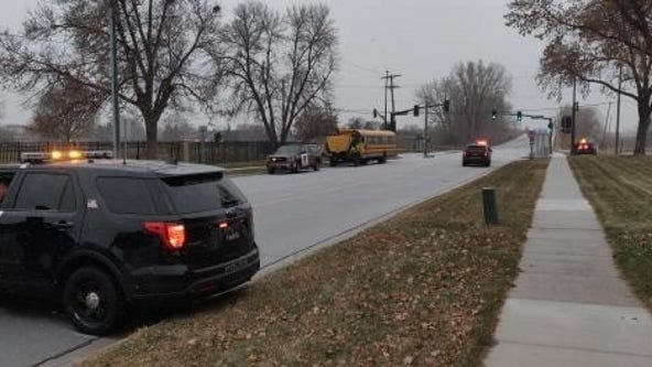 Bicyclist fatally struck by school bus in Brooklyn Park, Minnesota