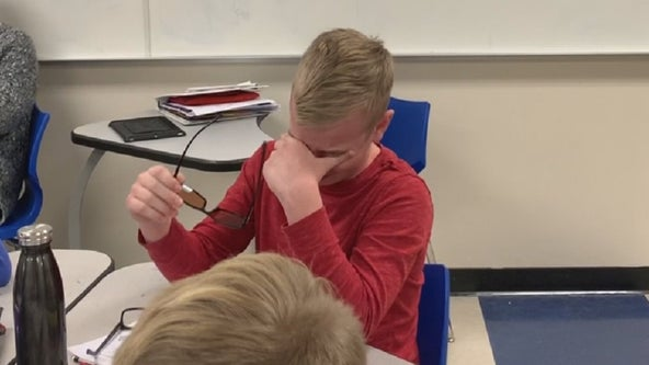 Colorblind Minnesota boy overwhelmed after seeing color for 1st time