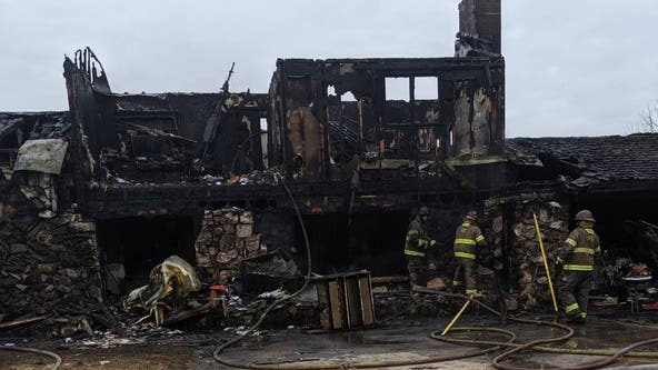 13 Australian Shepherd dogs die in house fire near St. Francis, Minn.