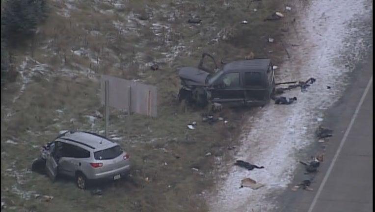 Hudson crash after chase