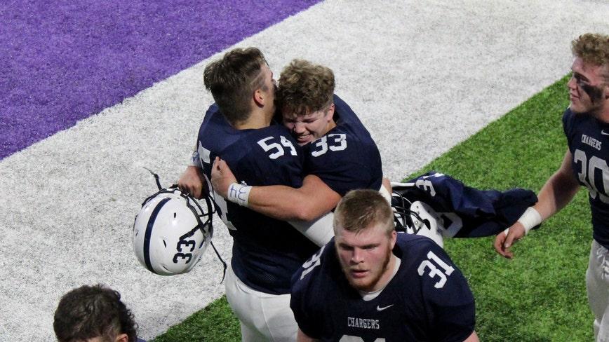 'It goes everywhere with us': Dassel-Cokato football team honors late teammate during state tournament run