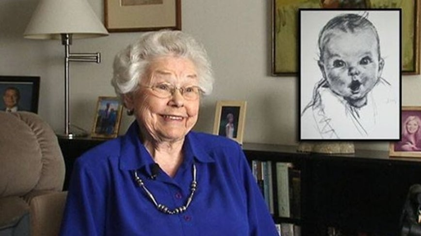Original Gerber baby, Ann Turner Cook, turns 93