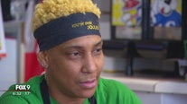 North Minneapolis restaurant owner returns to work after being shot in the face with pellet gun