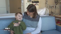 M-Fairview Health University of Minnesota Masonic Children's Hospital doctor treats mother and son with same condition