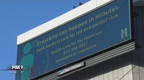 Hennepin County digital billboards to highlight homeless shelter resources during cold weather