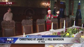 Christmas at the James J. Hill House in St. Paul, Minnesota