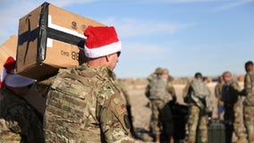 Operation Holiday Express brings gifts to US troops in Syria