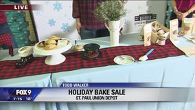 Holiday Bake Sale at Union Depot in St. Paul, Minnesota