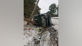 Intoxicated driver in custody after crash in Chisago County, Minnesota
