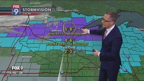 Snow expected overnight in metro before subzero temps
