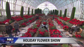 Garden Guy Dale K checks out Holiday Flower Show in St. Paul, Minnesota
